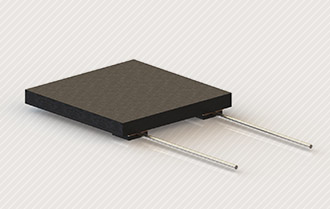 Flat heating elements